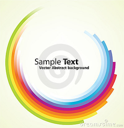 Free Colorful Circular Motion Background Stock Photos - 16368753
