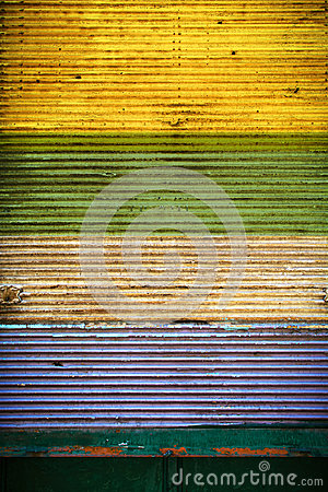 Free Colorful Closed Shutter Royalty Free Stock Image - 52751766