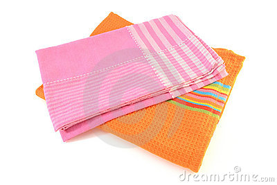 Colorful cloth napkins