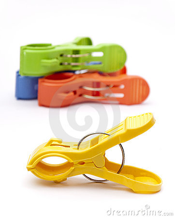 Colorful Clothes Pegs