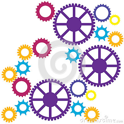 Colorful Cogs