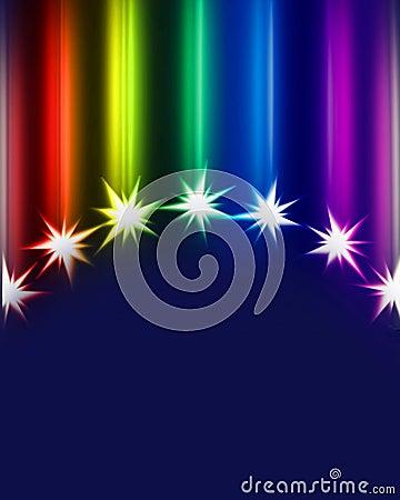 Colorful comets