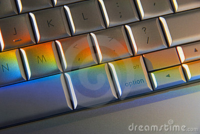 Colorful Computer Keyboard Technology