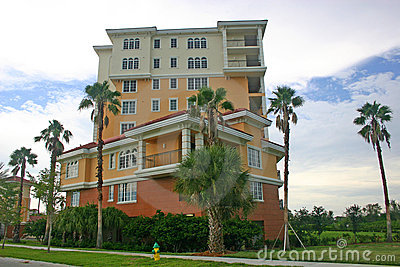 Colorful Condo Apartments