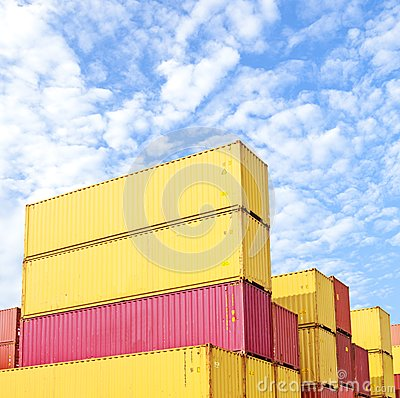 Colorful Container area