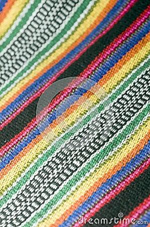 Colorful cotton material textile  for Colombian men s shoulder b