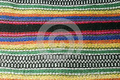 Colorful cotton material textile  for Colombian men s shoulder b
