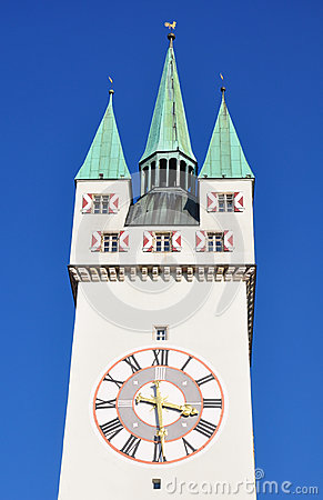 Tower in Straubing, Bavaria
