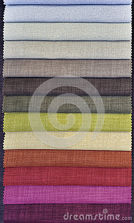 Colorful Curtain Fabric Samples