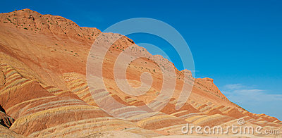 Colorful Danxia Landform