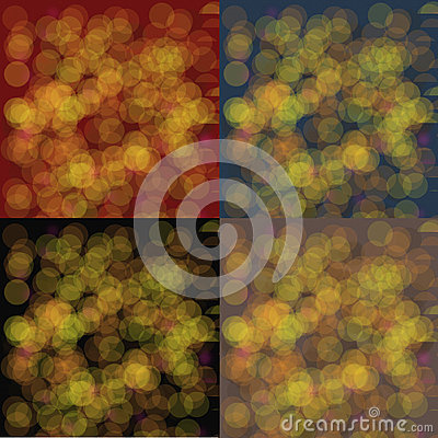 Colorful defocus light background