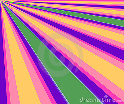 Colorful Diagonal Rays Background
