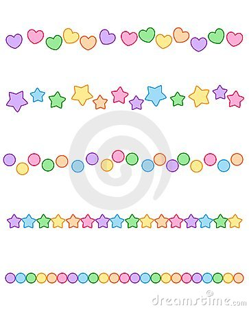 Colorful Divider border