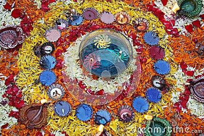Colorful Diwali Decoration