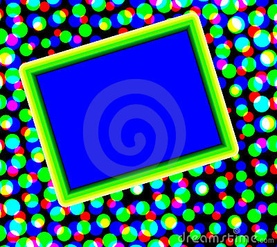 Colorful Dots With Copyspace