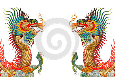 Colorful Dragons.