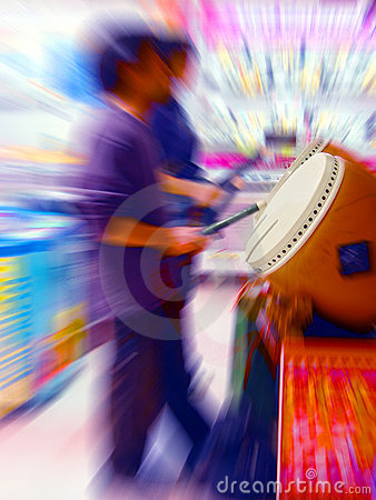 Free Colorful Drummers Royalty Free Stock Photos - 25888