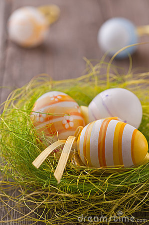 Free Colorful Easter Eggs Stock Photos - 18346293