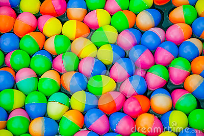 The Colorful easter eggs