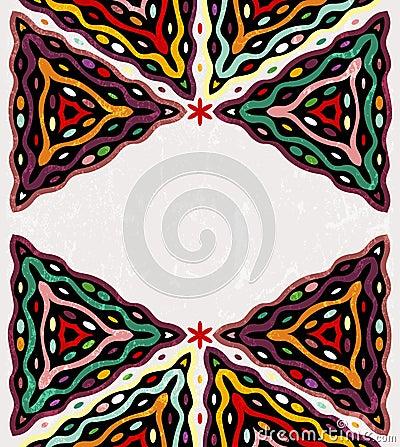 Colorful ethnic background