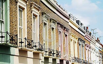 Colorful facades