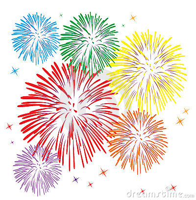 Free Colorful Fireworks Stock Images - 16227324