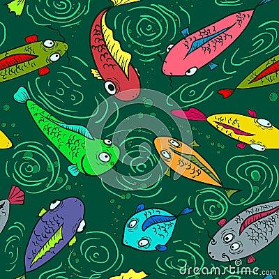 Fish seamless