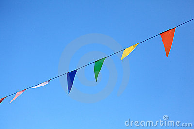 Colorful Flags Decoration