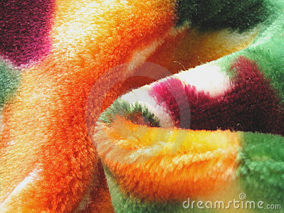 Colorful Fleece Blanket