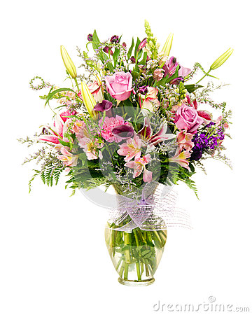 Free Colorful Florist-made Flower Arrangement Royalty Free Stock Image - 26304186