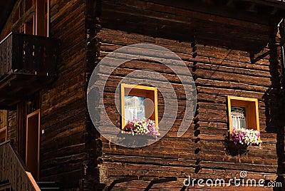 Colorful Flower Arragement on the windows