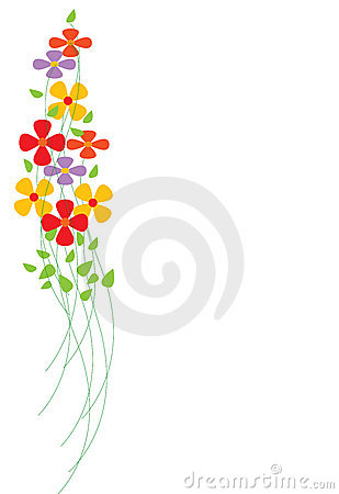 Free Colorful Flowers Stock Image - 10405821