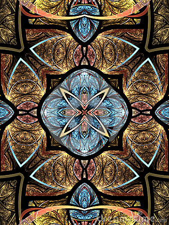 Free Colorful Fractal Mandala Royalty Free Stock Photos - 90350748