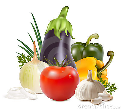 Free Colorful Fresh Group Of Vegetables. Royalty Free Stock Photo - 13143025