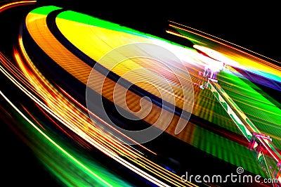 Colorful Funfair Lights