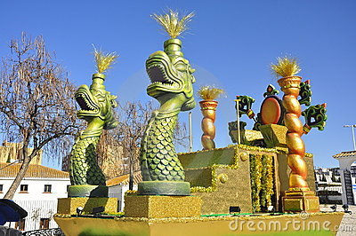 Colorful funny figures, Magic Kings Parade Editorial Photo