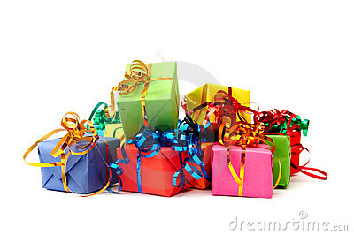Colorful gifts