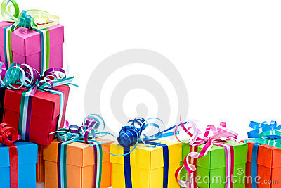 Royalty Free Stock Photos: Colorful gifts box. Image: 17164658