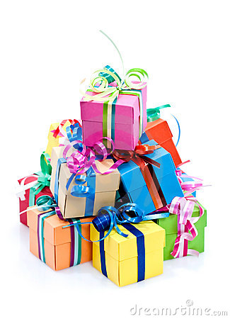 Free Colorful Gifts Box Royalty Free Stock Photo - 17164905