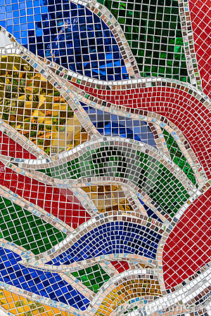 Free Colorful Glass Mosaic Stock Images - 82741224