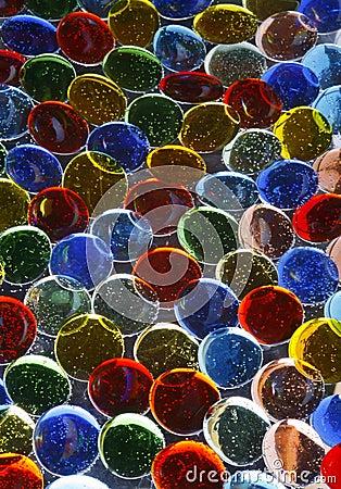 Colorful Glass Pebbles