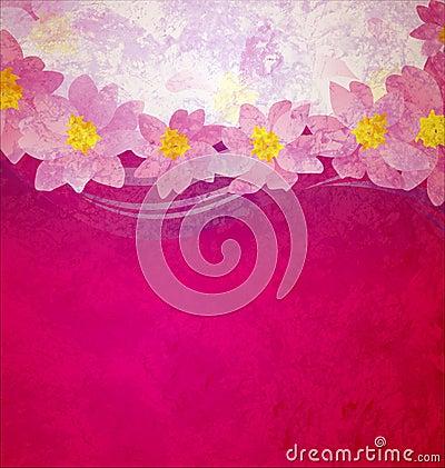Colorful grunge pink magenta
