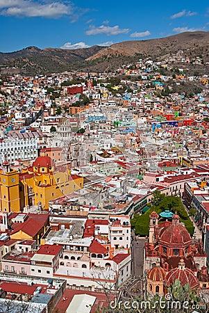 Colorful Guanajuato Town Editorial Stock Image