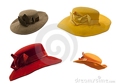 Isolated Hats Hat