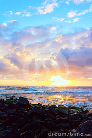 Colorful Hawaiian Sunrise