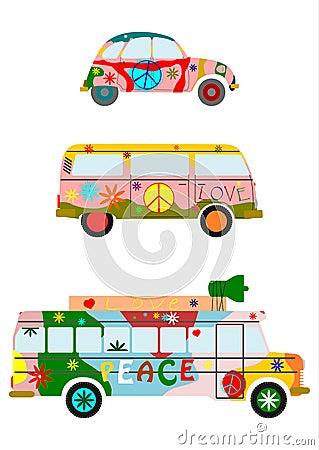 Hippies car.