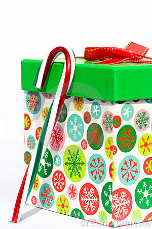 Colorful Holiday Gift Box