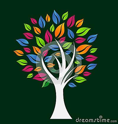 Colorful Hope Tree Logo