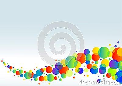 Colorful horizontal background