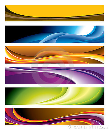 Colorful Horizontal Banner Collection